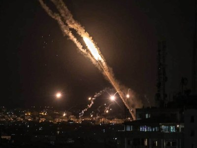 Israel faces highest ever rate of rocket attacks: army
