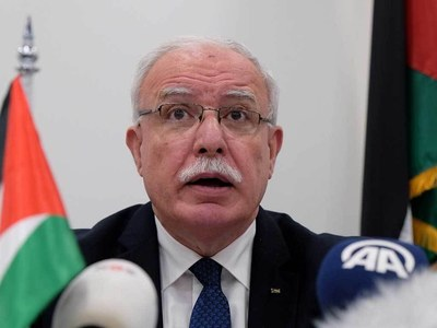Palestinian FM criticises moves to 'normalise' Israel ties