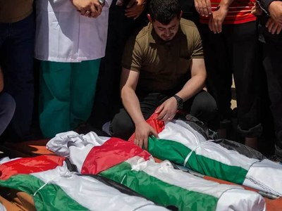 Iran Guards reaffirm support for Palestinians facing Israel 'crimes'