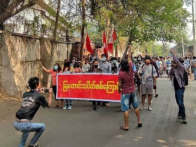 Anti-coup rebels say six dead in Myanmar clashes