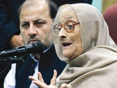 Begum Naseem Wali Khan passes away