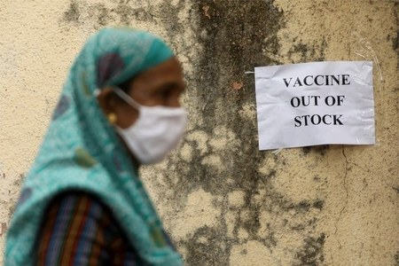 COVID-19 vaccination comes to a halt in IIOJK as supplies run out