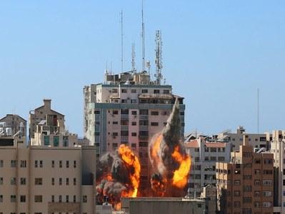 US seeks 'justification' from Israel for strike on media building