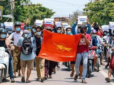 US hits Myanmar ministers, central bank chief with sanctions