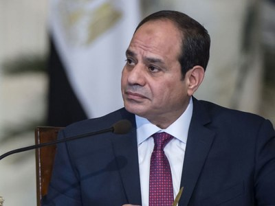 Macron, Sisi agree 'absolutely necessary' to end Israel-Gaza hostilities