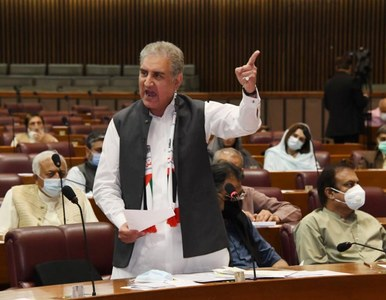 Qureshi leaves for US en route Turkey to address UNGA on Palestine