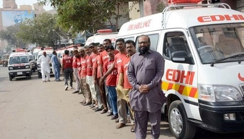 Faisal Edhi applies for visa to travel to Palestine for relief work