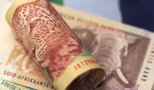 South Africa's rand flat ahead of expected inflation surge