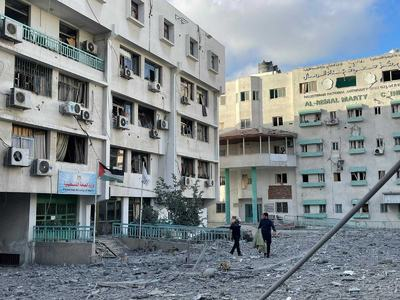Israeli airstrikes destroy the only COVID-19 testing lab in Gaza