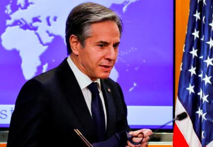 Blinken raised 'deep concerns' with Lavrov over Russian troops in Ukraine: spokesman