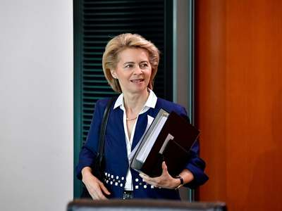 EU vaccination campaign catching up with that of the US, von der Leyen says