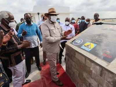 New deep-water port opens at Lamu, Kenya