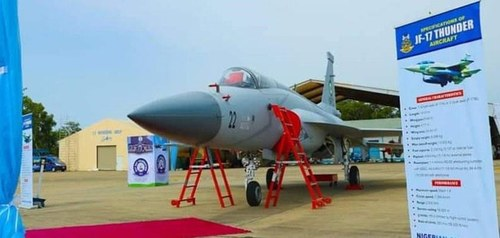 PAF hands over three JF-17 Thunder aircraft to Nigeria