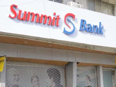 Summit Bank receives notice of PAI from potential acquirer