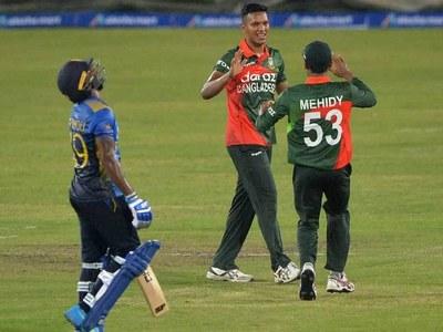Mehidy helps Bangladesh beat Sri Lanka in Covid-hit ODI