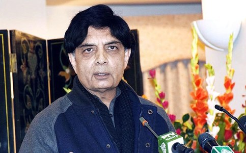 Chaudhry Nisar to take oath as Punjab MPA today