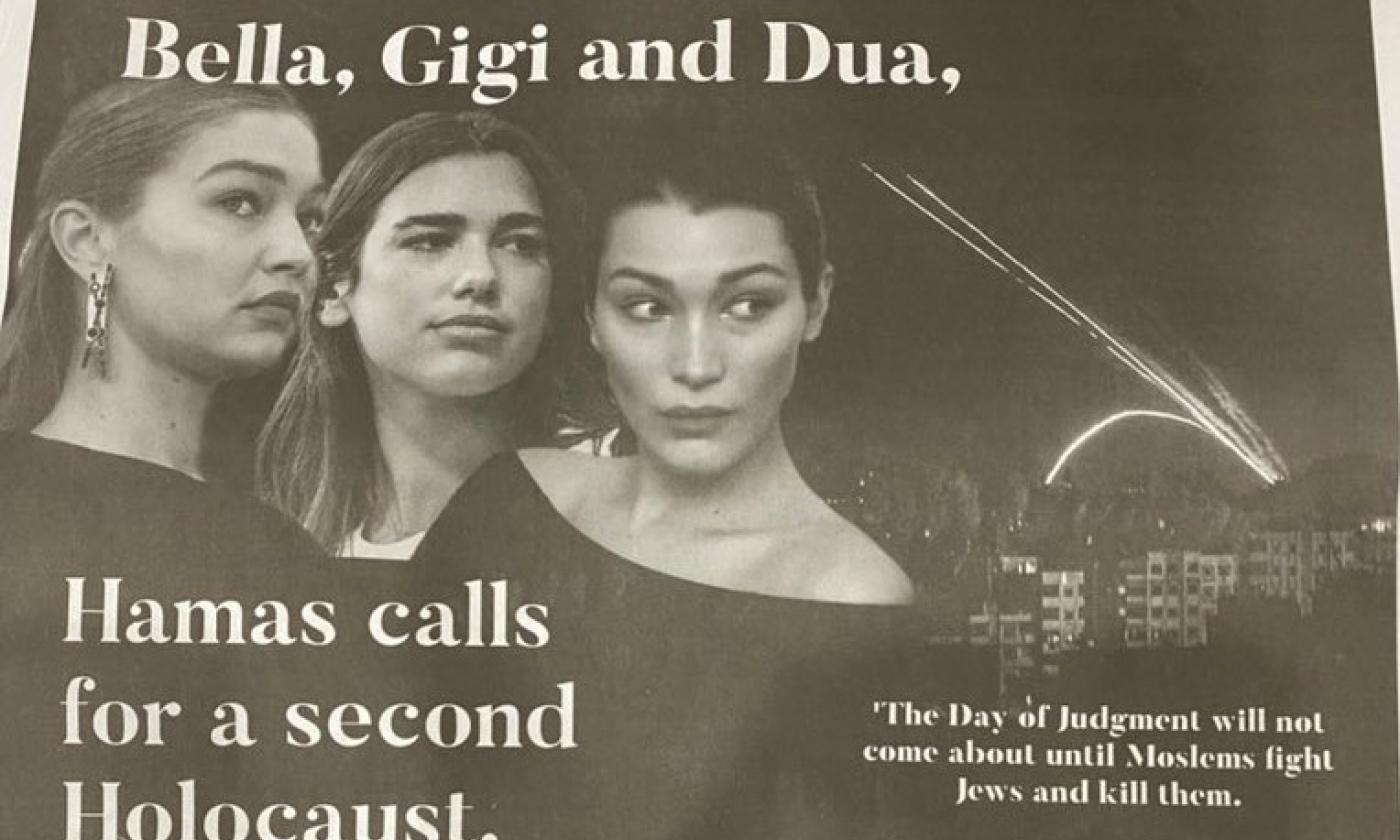 Dua Lipa blasts group that condemned her for supporting Palestine in NYT ad