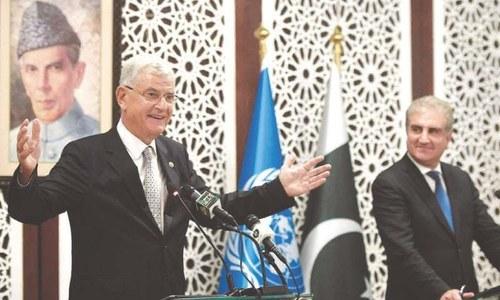 UNGA President Volkan Bozkir to arrive in Pakistan today