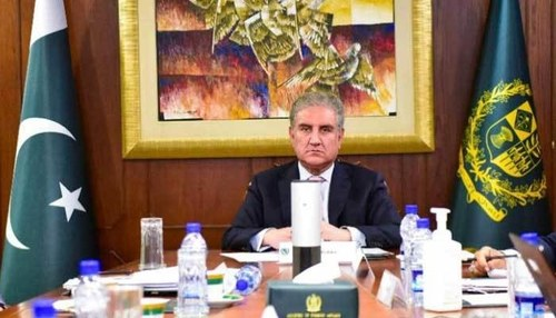Govt will not allow any radical group to challenge writ of state, Qureshi tells EU lawmakers