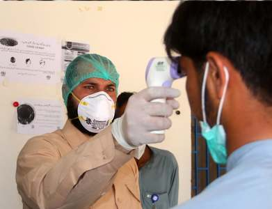 Minister inaugurates vaccination centre at Social Security Hospital