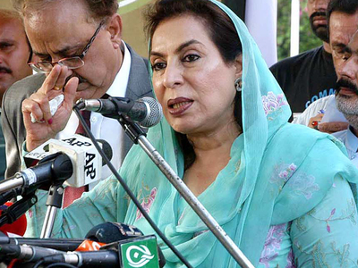 Minister accuses Sindh govt of occupying her lands