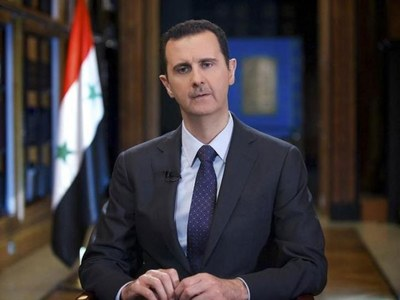 No surprises as Syria's Assad re-elected for 4th term