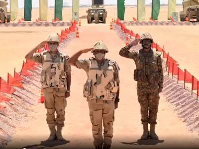 Pakistan-Egypt first joint air defence exercise begins