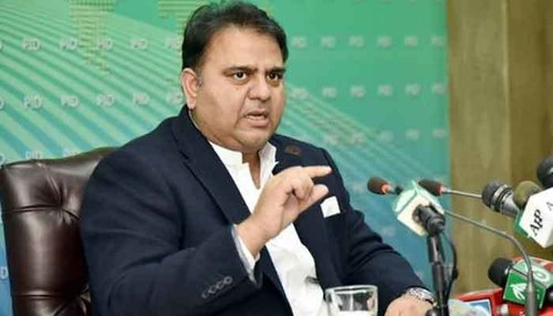 Fawad questions timing of PDM's protest call, asks whom it will benefit