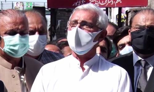 Tareen rejects rumors of meeting senior govt official regarding inquiries against him