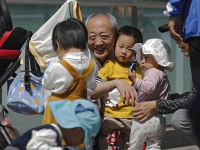 China allows couples to have three children as birthrate falls