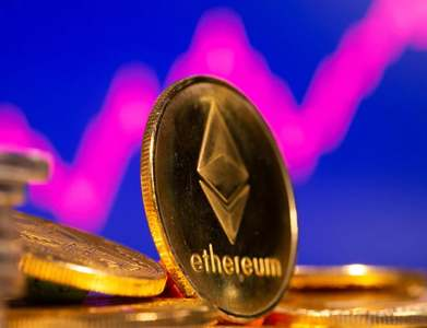 Ethereum extends gains to rise 8pc; bitcoin firms