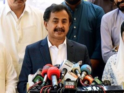 PPP, Sindh govt should refrain from spreading hatred: Haleem Adil Sheikh