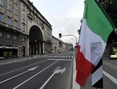 Italy's first quarter growth revised upwards