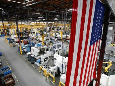 US manufacturing expansion hits one-year mark