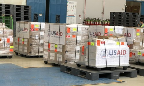 US dispatches emergency medical supplies to Pakistan