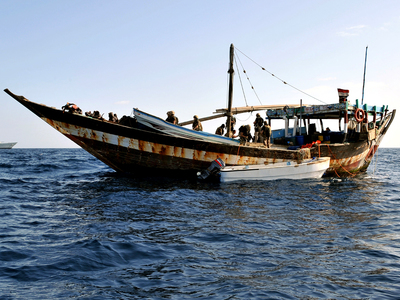 Pirates seize 4 Koreans, 1 Filipino crew off Benin
