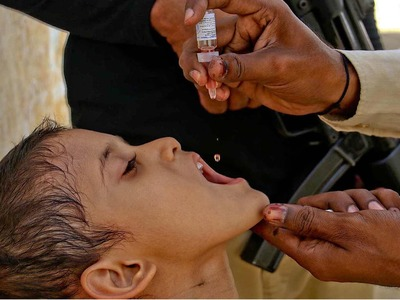 Week-long anti-polio vaccination drive in Sindh from tomorrow
