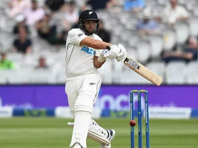 Taylor leads New Zealand charge in first Test against England