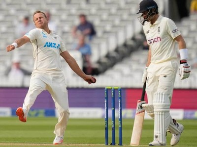 New Zealand set England 273 to win first Test after Taylor charge