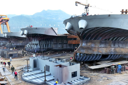 Germany pumps in millions to keep Asian shipbuilder afloat
