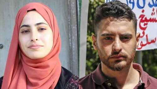 Palestinian activist twins detained