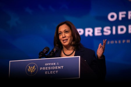 Kamala Harris's plane forced to turn around due to technical fault