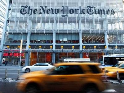 Financial Times, New York Times, Bloomberg websites temporarily down