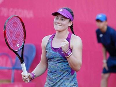 World number 85 Zidansek reaches French Open semi-finals