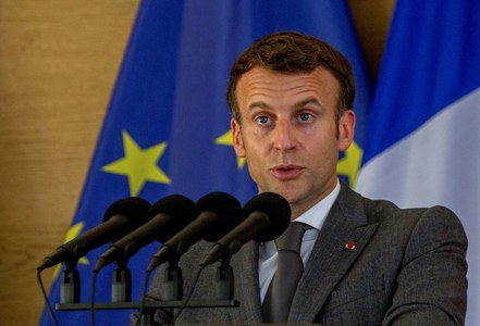 Macron slapped in the face during walkabout in southeastern France