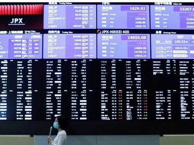 World stocks near record high, US bond yields near 1-month low