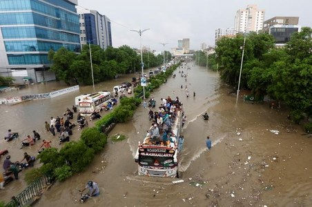 Heavy rainfall forecasted across central, eastern Pakistan