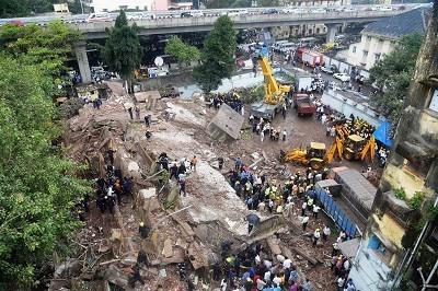 Twelve dead in Mumbai building collapse