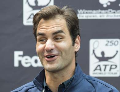 It's 'go time' for Federer, 39, with favoured grasscourt season about to begin
