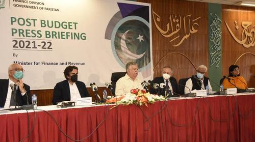Pakistan eyeing sustainable growth, says Tarin